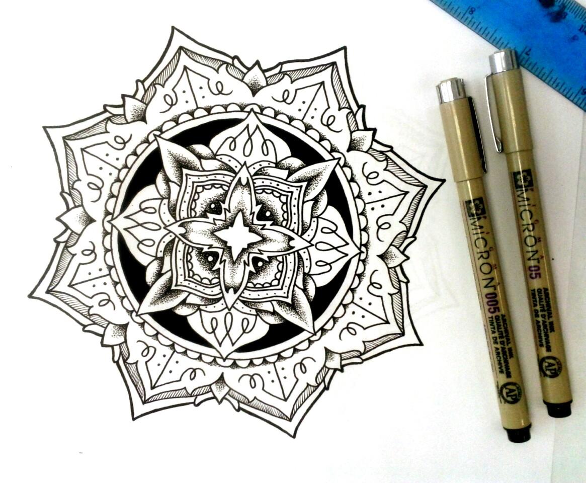 Coloriage anti stress mandala gratuit pour adulte 66 dessin de mandala - Dessin anti stress mandala ...