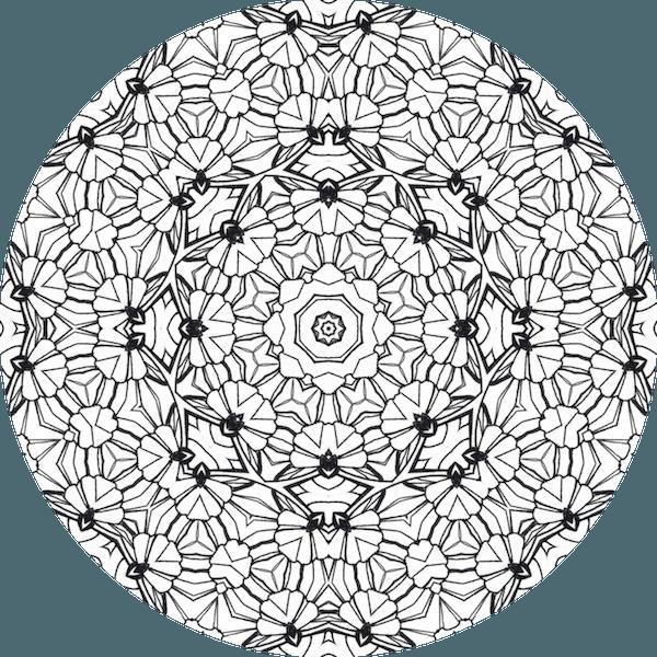 Les Motifs Du Coloriage Mandala Archives Dessin De Mandala