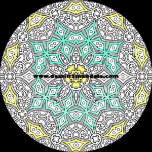 mandala à colorier numéro 05