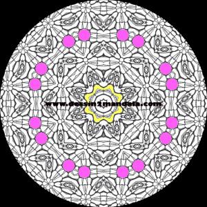 mandala à colorier numéro 26