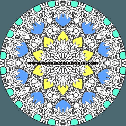 mandala à colorier numéro 29