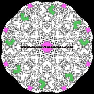 mandala à colorier numéro 40
