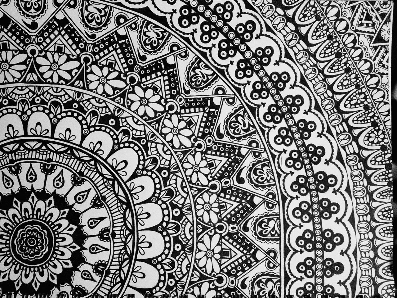 Coloriage anti stress mandala gratuit pour adulte 26 dessin de mandala - Dessin anti stress mandala ...