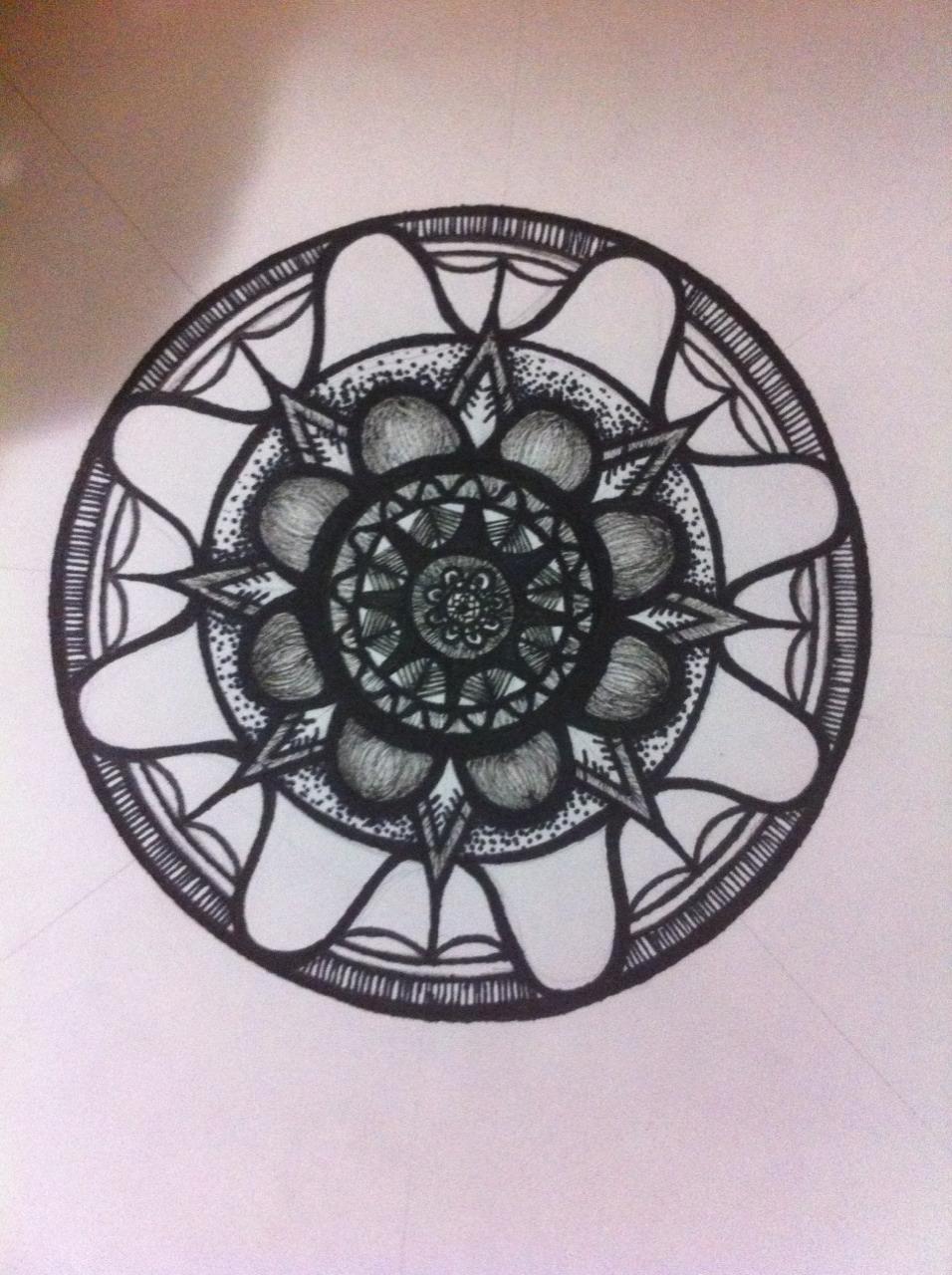 Coloriage mandala en ligne 42 dessin de mandala - Mandala coloriage en ligne ...