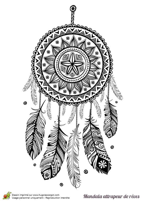 coloriage-mandala-a-imprimer-12 - Dessin de mandala