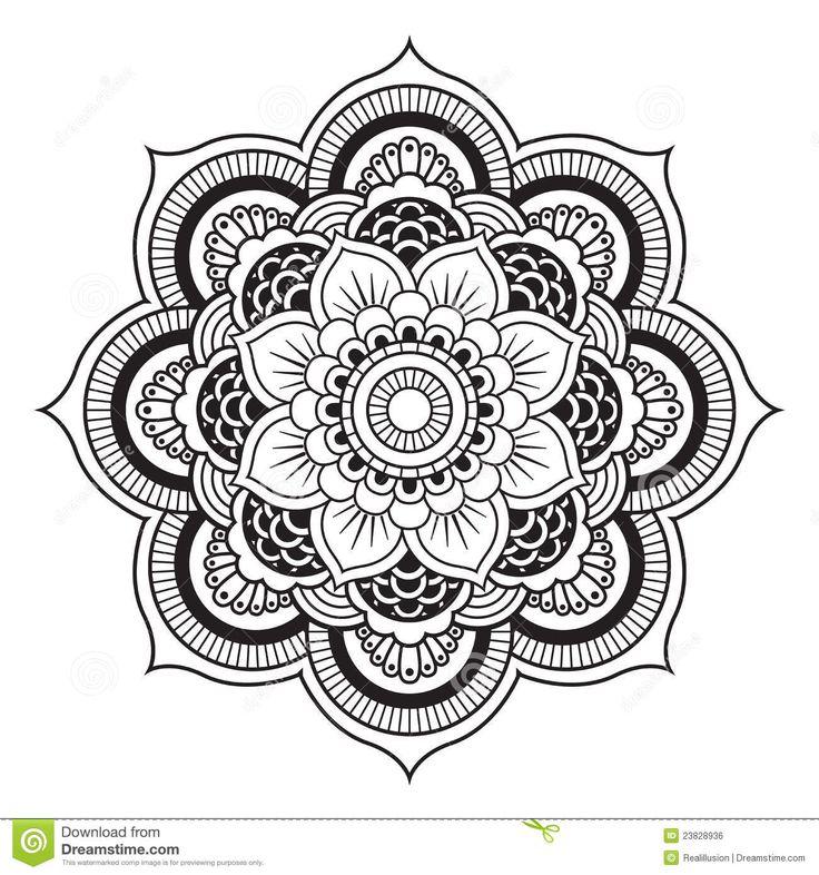 Coloriage mandala en ligne 36 dessin de mandala - Coloriage mandala en ligne ...