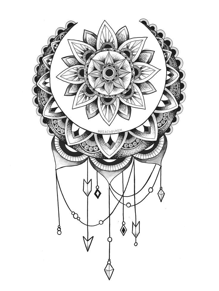 coloriage-mandala-en-ligne-39 - Dessin de mandala
