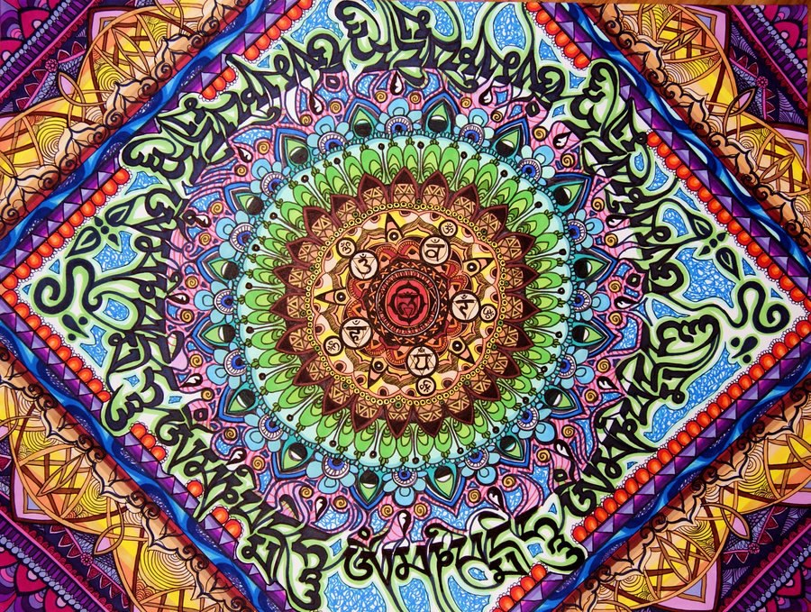 Coloriage Mandala Couleur.Coloriage Mandala Tout En Couleurs 22 Dessin De Mandala