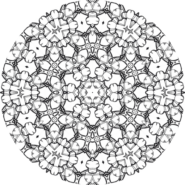 Comment Faire Un Coloriage Anti Stress.Comment Faire Coloriage Anti Stress Dessin De Mandala