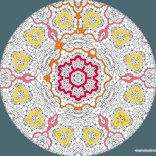 Dessin A Colorier Mandala Imprimer Numero 20 Dessin De Mandala