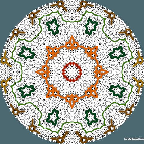 Dessin à Colorier Mandala Imprimer Numero 22 Dessin De Mandala