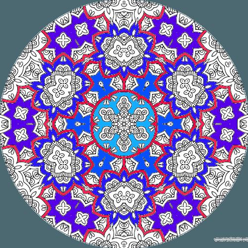 Dessin A Colorier Mandala Imprimer Numero 35 Dessin De Mandala