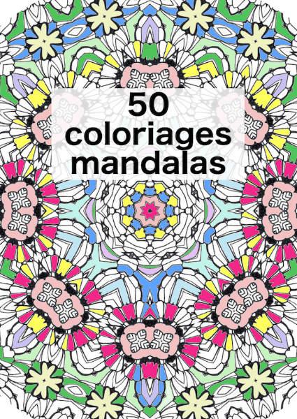 50 mandalas en haute définition à colorier