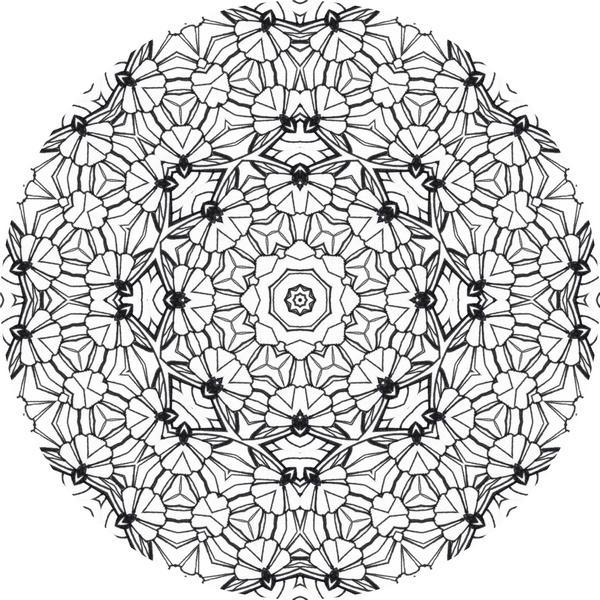 les motifs du coloriage mandala