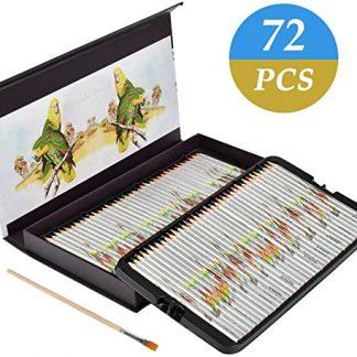 coffret 72 crayon de couleur